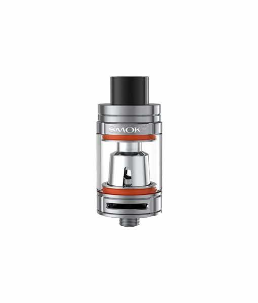 SMOK TFV8 Baby Tank Atomizer in Stainless Steel.