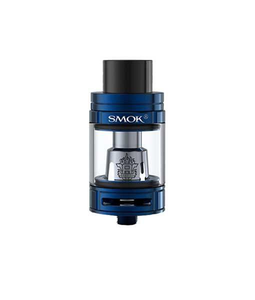 SMOK TFV8 Big Baby Tank Atomizer (Large 24.5mm Version) in Blue.