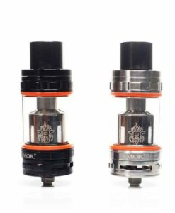 SMOK TFV8 Sub-Ohm Tank Full Kit in Black & Stainless Steel