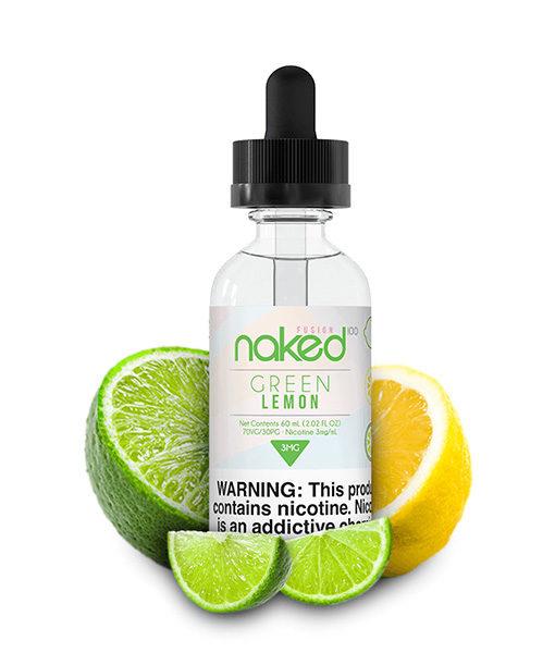 Naked 100 Green Lemon 60ml E-Liquid