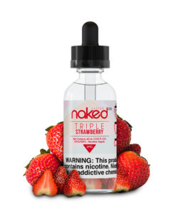 Naked 100 Triple Strawberry 60ml E-Liquid