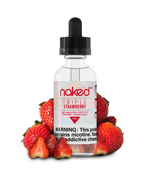 Naked 100 Triple Strawberry 60ml E-Liquid
