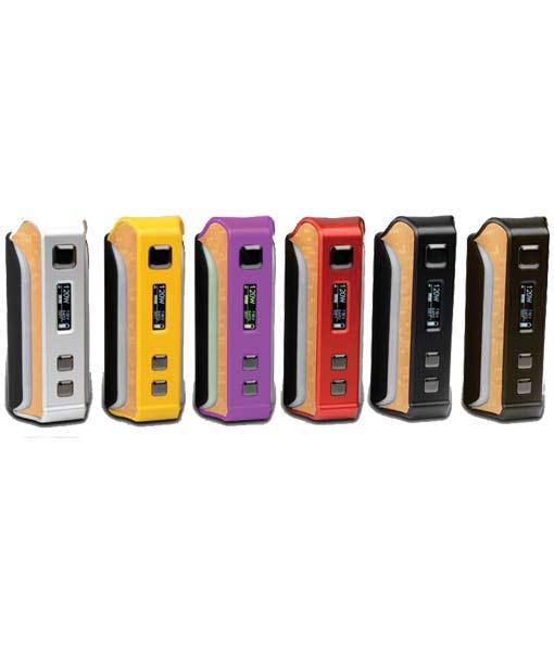 KMG Imports Vape Pioneer4You IPV Velas YiHi SX410 Chip Oled Screen 120W Mod Pre Order Six Colors Silver Red Yellow Purple Gun Color Black