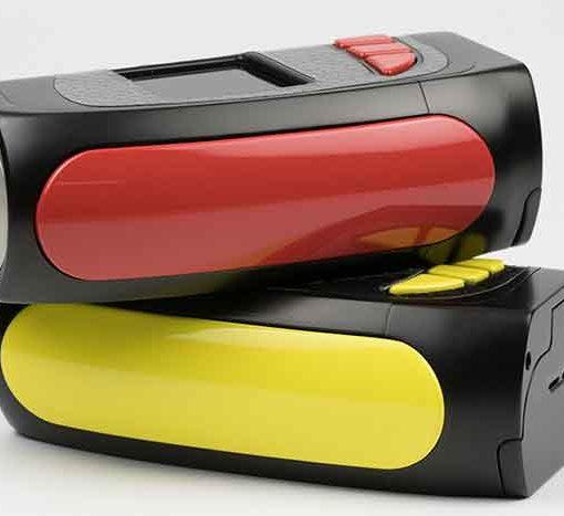 KMG Imports Vaping Pioneer4You PV Eclipse 200w Box Mod BlackRed BlackYellow