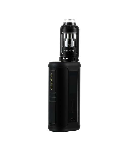 Aspire Speeder 200W Kit KMG Imports Vape Mod Speeder MOD 200W Maximum Output Wattage Tempeture Control Kit Athos Tank OLED Screen Top Filling Black