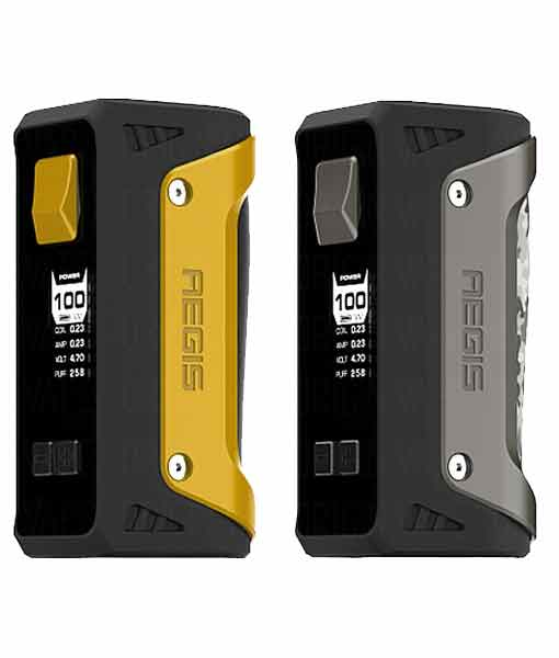 GeekVape Aegis Box Mod with 26650 IMR - Geek Vape Aegis 100W TC Box Mod Yellow Camo