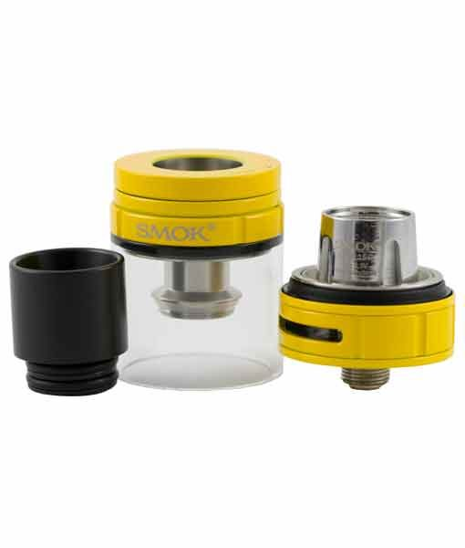 SMOK Stick V8 Kit - SMOK Stick V8 Baby Kit TFV8 Big Baby Tank 510 Connection KMG Imports in Auto Yellow with Tank