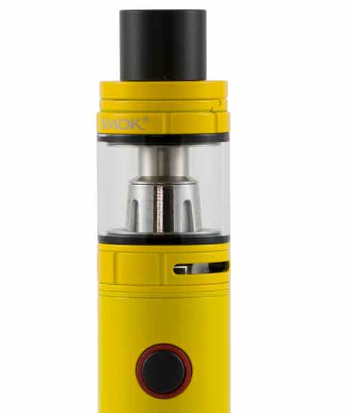 SMOK Stick V8 Baby Kit TFV8 Big Baby Tank 510 Connection KMG Imports in Auto Yellow with Tank
