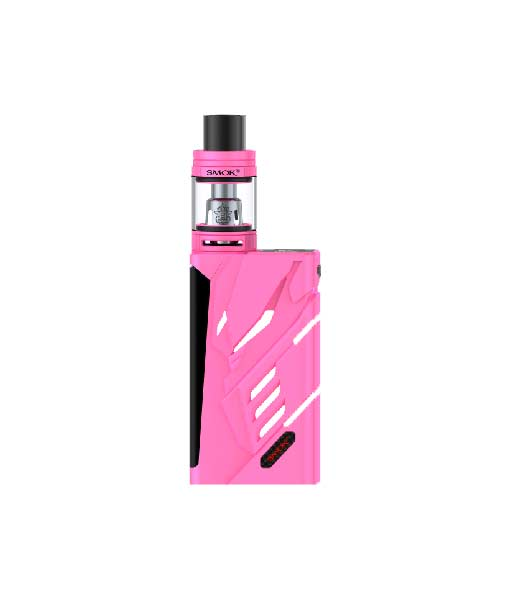 SMOK T- Priv + TFV8 Big Baby Tank Kit KMG Import TFV8 Big Baby Tank Kit 220W 9-Color Custom LED OLED SCREEN two 18650 batteries Auto Pink