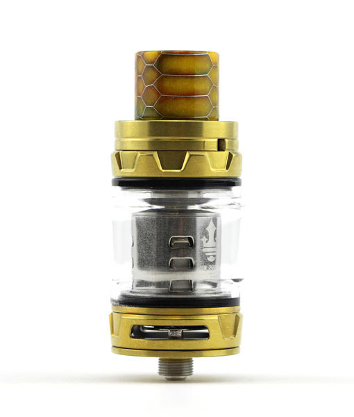 SMOK TFV12 Prince Tank With Cobra Resin Drip Tip Wide Bore 810 KMG Imports Gold 4