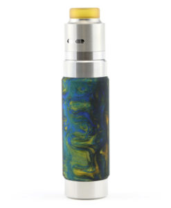 Wismec Reuleaux RX Machina with Guillotine RDA Swirled Metallic Resin 3