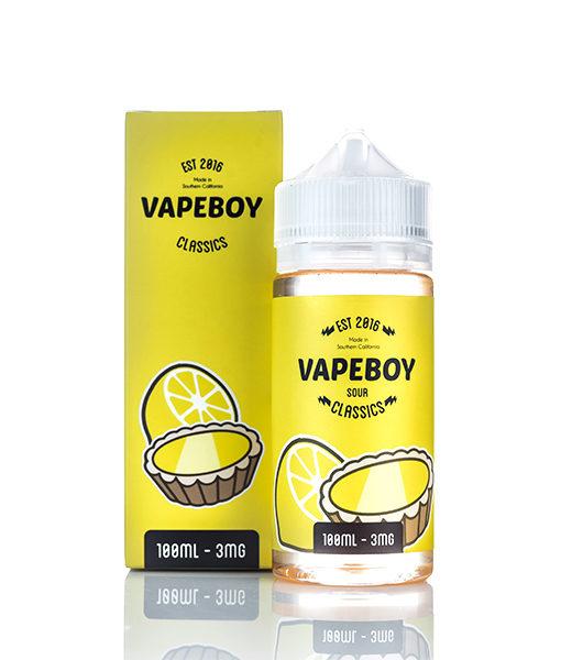 Vape Boy Classics I Tart Lemon 100ml E-liquid