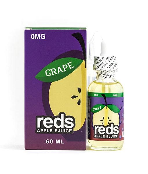 7Daze Reds Apple Grape 60ml E-liquid