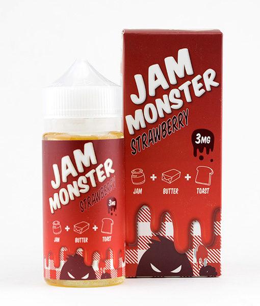 Jam Monster Strawberry - 100ml
