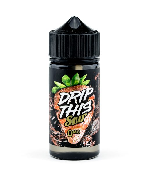 Drip This Sour - Strawberry 100ml E-liquid
