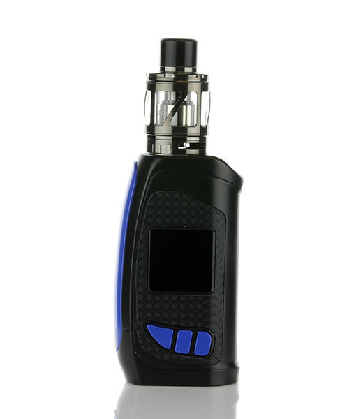 Pioneer4you iPV Eclipse Mod with LXV4 (Gun Metal Finish) Tank with Blue Mod