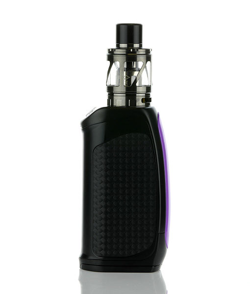 Pioneer4you iPV Eclipse Mod with LXV4 (Gun Metal Finish) Tank with Purple Mod