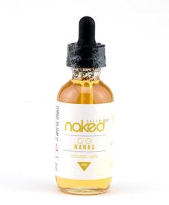 Naked 100 Cream Go Nanas 60ml E-Liquid