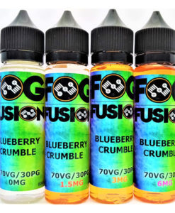 Fog Fusion - Blueberry Crumble 60ml