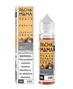 Pachamama Peach Papaya Coconut Cream 60ml E-liquid