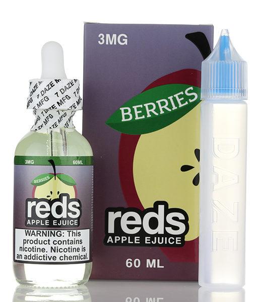 7Daze Reds Apple Berries 60ml E-liquid