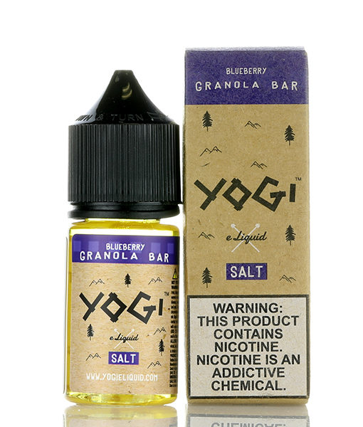 Yogi Blueberry Granola Bar 30ml Nic Salt E-liquid