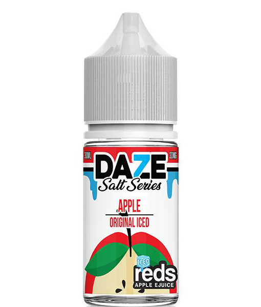 7 Daze Salt Series Reds Apple Iced