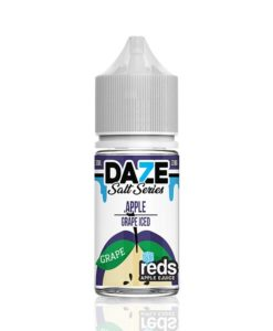 7 Daze Salt Series Reds Apple Grape Iced
