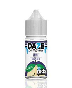 7 Daze Salt Series Reds Apple Grape Iced