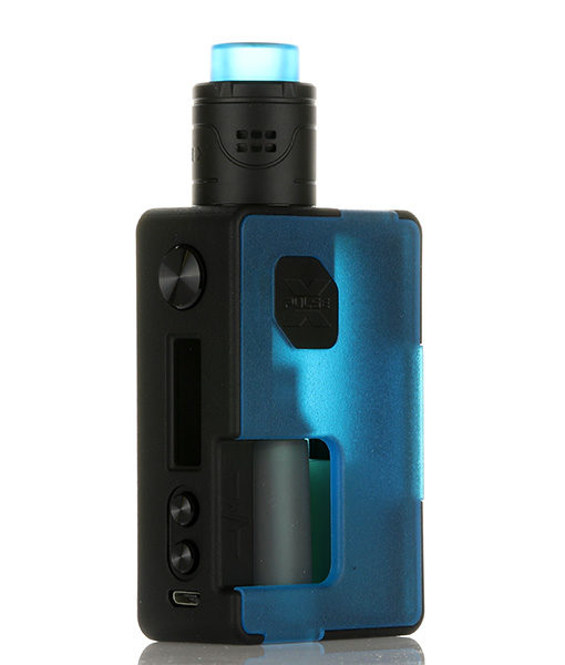 Vandy Vape Pulse X BF Kit with Squonk Refilling Bottle Frosted Blue