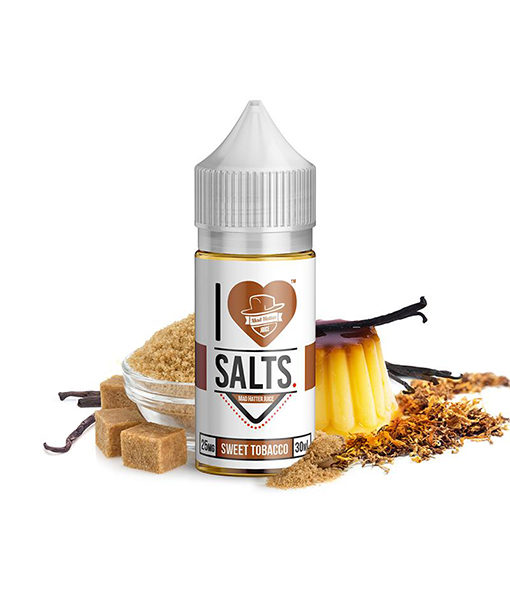 Mad Hatter I Love Salts Sweet Tobacco 30ml