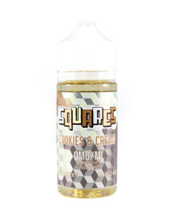 Plus One Vapors Squares Cookies and Cream 100ml