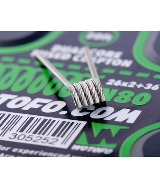 Wotofo Dual Core Fused Clapton Wire Roll - 20 Feet