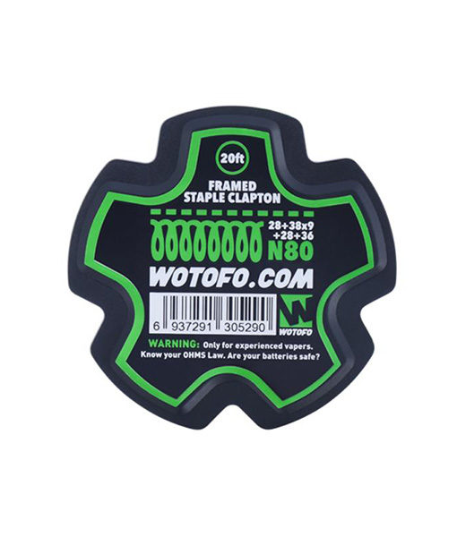 Wotofo Framed Staple Wire Roll - 20 Feet