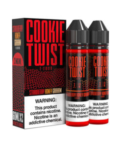 Cookie Twist Strawberry Honey Graham 2x60ml
