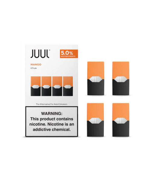 Juul Replacement Pods 4-Pack Mango