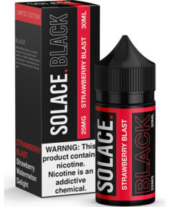 Solace Black Strawberry Blast 30ml