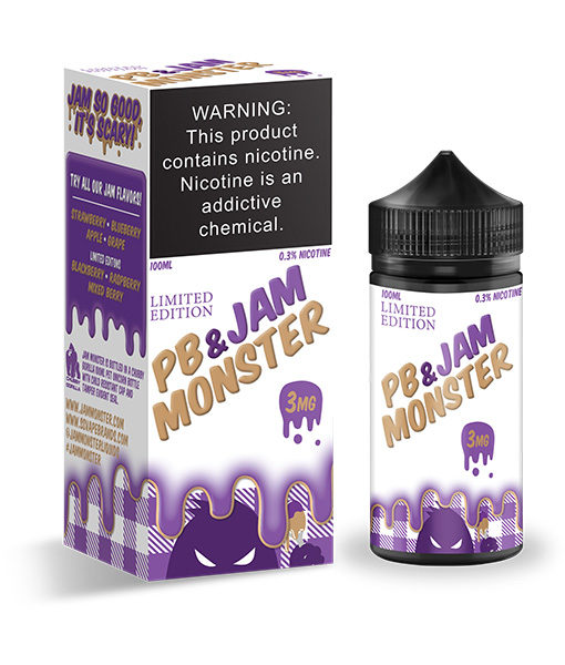 Jam Monster PB & Jam 100ml