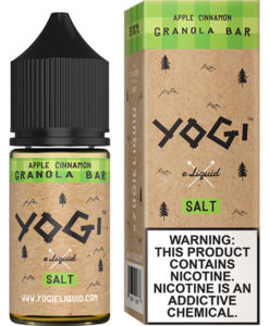 Yogi Salt Apple Cinnamon Granola Bar 30ml