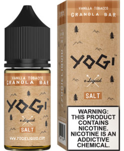 Yogi Salt Vanilla Tobacco Granola Bar 30ml