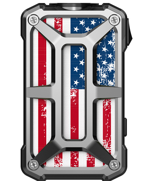 Rincoe Mechman Mod Steel Bone American Flag Stainless Steel