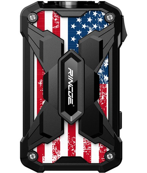 Rincoe Mechman Mod Steel Wings American Flag Black