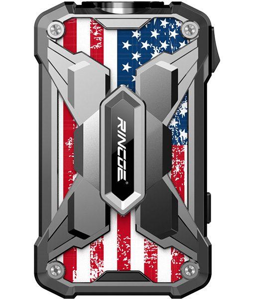 Rincoe Mechman Mod Steel Wings American Flag Stainless Steel