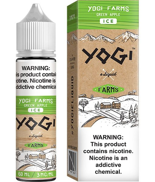 Yogi Farms Ice Green Apple 60ml