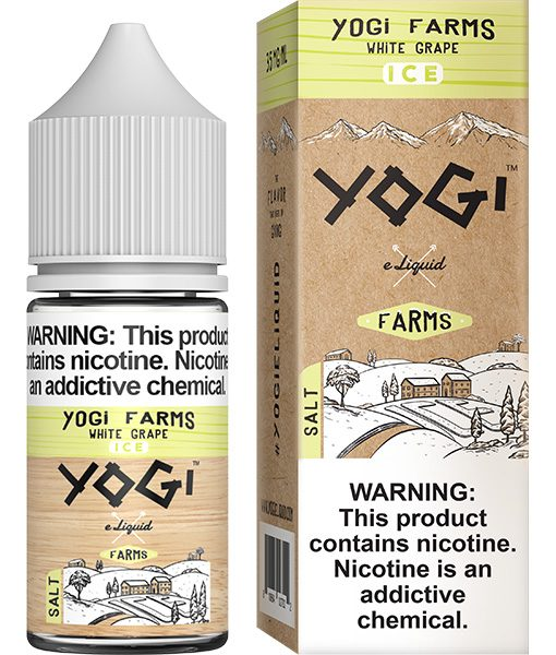 Yogi Farms Salt Ice White Grape 30ml