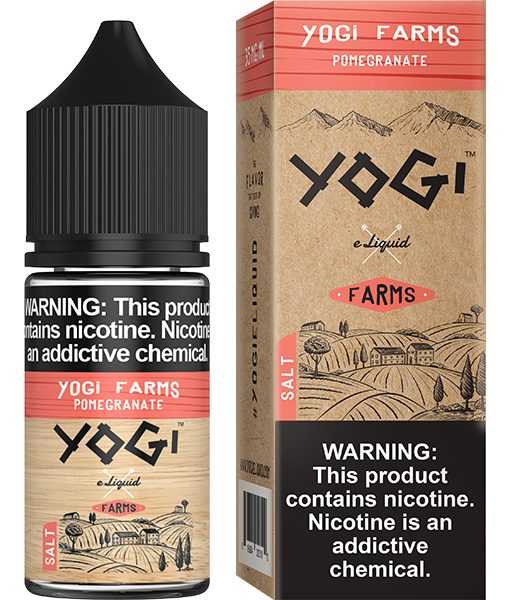 Yogi Farms Salt Pomegranate 30ml
