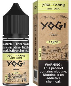 Yogi Farms Salt White Grape 30ml