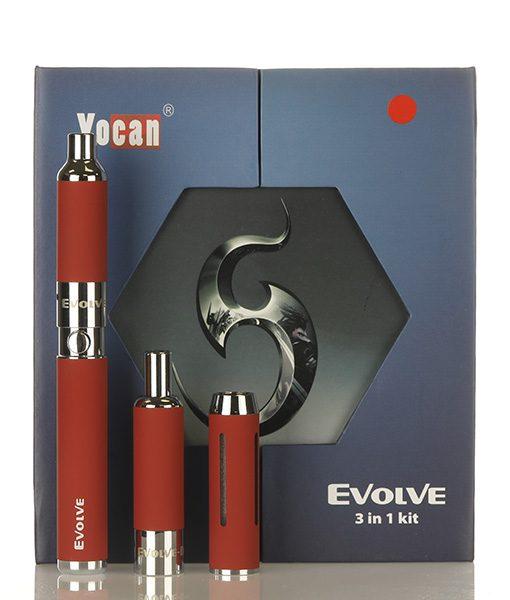 Yocan Evolve 3-in-1 Kit Red