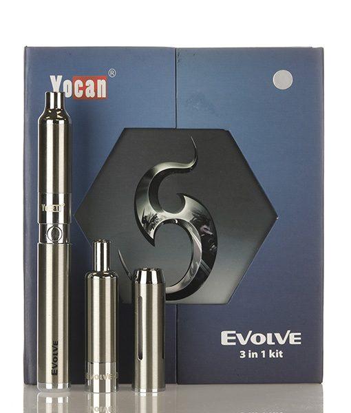 Yocan Evolve 3-in-1 Kit Silver