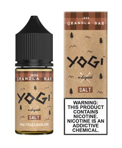Yogi Salt Java Granola Bar 30ml